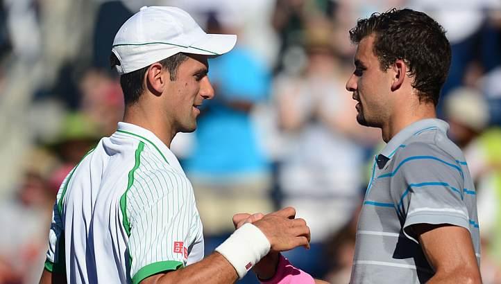 Djokovics és Dimitrov